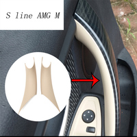 Car styling Interior Door Handle Cover Trim Door Bowl Stickers decoration For BMW 3 4 Series 3GT F30 F32 F34 auto accessories