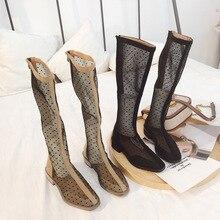 sandalias mujer 2019 Shoes Women Mertin Boots Mesh Summer Brand