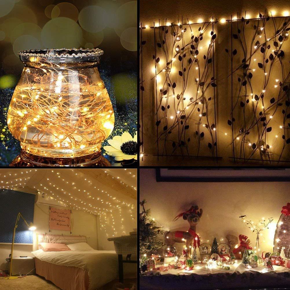 LED Night Light Desk Decoration Light Night Lamp Battery Operated LED String Light For Festival Wedding Holiday Home Light