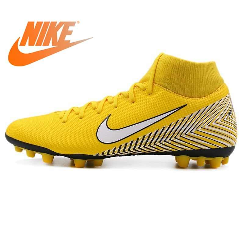 Original 2018 NIKE SUPERFLY 6 ACADEMY NJR AG-R Men s Football Shoes Soccer  Shoes Sneakers c6a811deab774