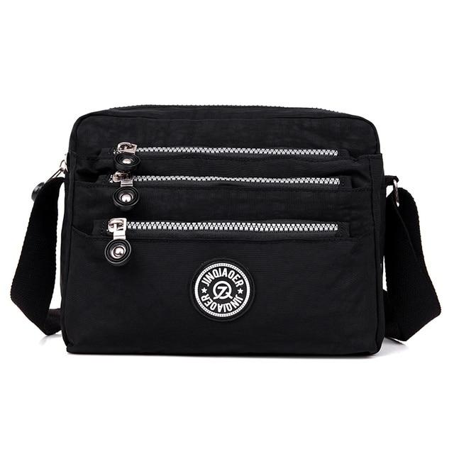 Fashion Womens messenger bags Waterproof Nylon purses Top-handle Handbags  Female Crossbody Bags style shoulder hand bags 6ec969504f1b1