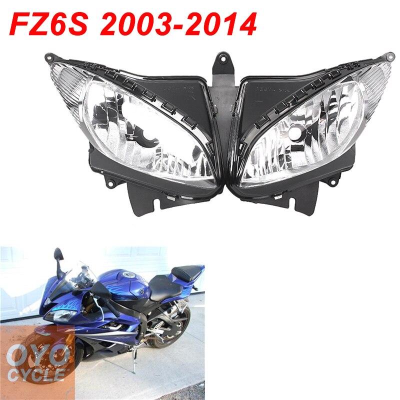 Scheinwerfer Headlight Kit Für YAMAHA FZ6S FZ6N FAZER 2004 2005 2006