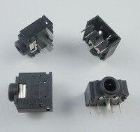 50 pcs 3.5mm 스테레오 오디오 소켓 전화 잭 커넥터 3 핀 pcb 마운트 pj307c