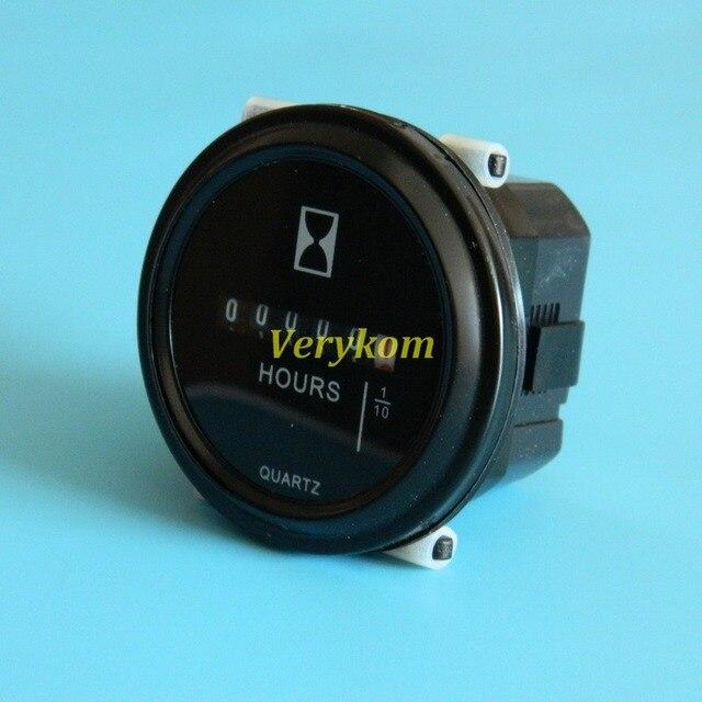 Mécanique AC 100-250 V 100% haute qualité 6 chiffres numérique compteur horaire Quartz minuterie sablier (0 à 99999.9 heures)