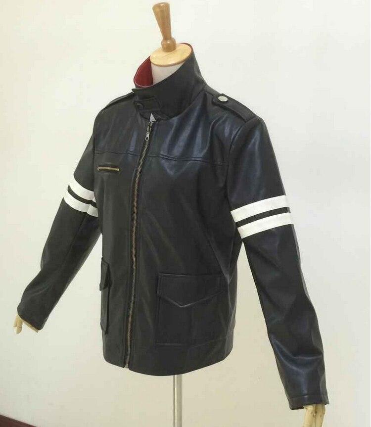 Прототип Alex Mercer Косплей Костюм вышитая куртка искусственная кожа пальто костюмы на Хэллоуин для женщин/мужчин на заказ - Цвет: Jacket