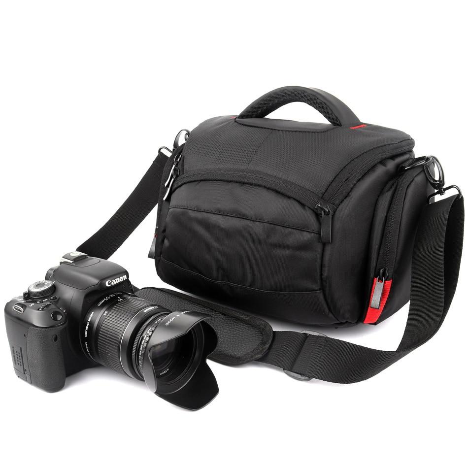DSLR Camera Bag Case for PENTAX K5 K5IIs KR K30 K50 K-50 K-3 K3II KX K1 K70 K-70 K-500 K-r K-x K-m Q-S1 Q10 Q7 Q K-01 KP Color : Black