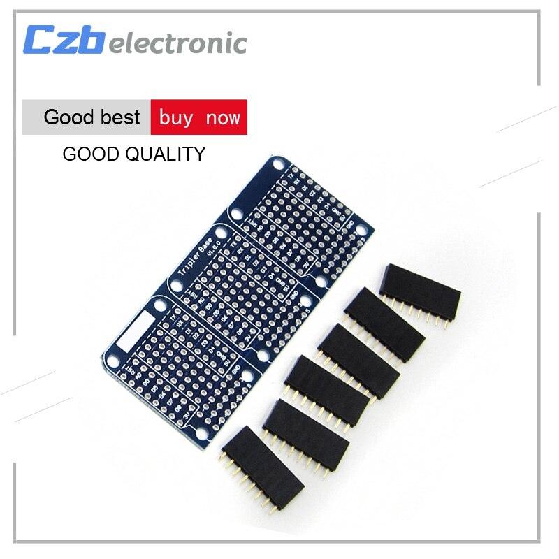Unterhaltungselektronik 10 Teile/los Dual Dreifache Abschirmung Nodemcu Lua Mini Wemos D1 Mini Iot Esp8266 Für Arduino Schild