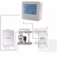 BGL02-5 LCD Thermoregulator Gas Boiler Heating Temperature Controller Programmable Thermostat for Kombi Boiler Wall Mounted O17