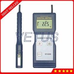 HT-6290 cyfrowy LCD termohigrometr z ręczny miernik temperatury i wilgotności tester
