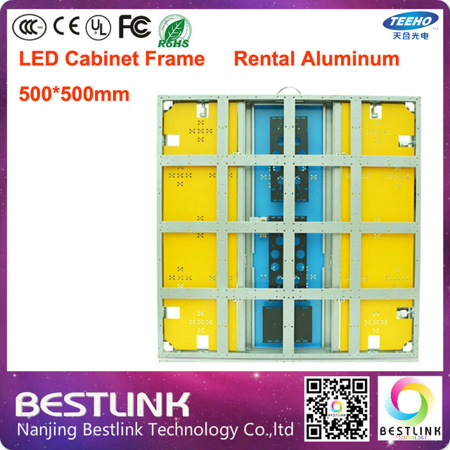 led aluminum cabinet frame supply wholesale 640*640 led cabinet for ...