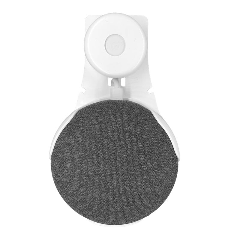 New Outlet Wall Mount Stand Bracket Hanger Holder For Google Home Mini Voice Assistant Smart Speaker Accessories Qiang
