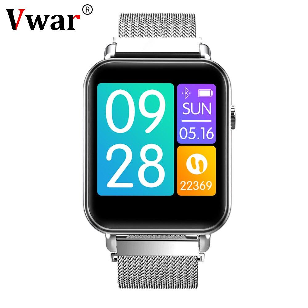 Vwar V66 Smartwatch 1.3 inch TFT Gorilla Glass Blood Pressure Oxygen IP67 Waterproof Activity Tracker Heart Rate Smart Watch P68