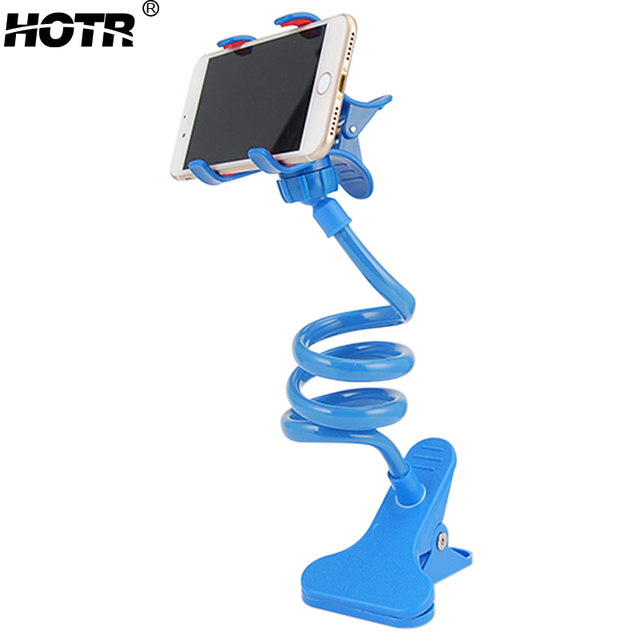 check out 54a75 6633c US $6.99 |universal lazy phone holder bed desktop mount 360 flexible arm  mobile phone holder stand support for iphone 6 plus for samsung-in Mobile  ...