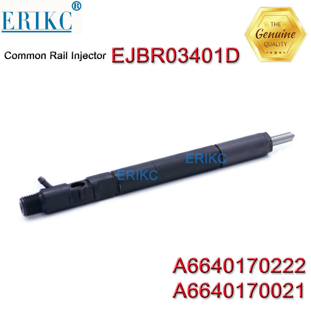Engine Injector A6640170222 ERIKC A6640170021 Original EJB R03401D for SSANGYONG EJBR03401D Diesel Engine Injector EJBR0 3401D