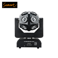 Free shipping 12*15W rgbw stage effect football light moving head beam spot wash strobe dmx projector lighting