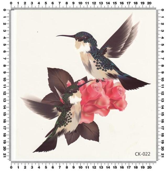 2sheet 3D Bird Rose Flower Leaf 3D Tattoos Large Women tatoo Waterproof temporary tattoo Stickers for new make up Beacuty 1