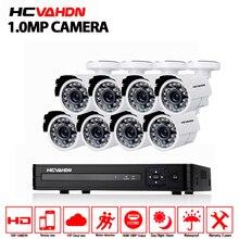 1080P HDMI DVR 1200TVL 720P HD Outdoor Home Security Camera System 8CH CCTV Video Surveillance DVR Kit AHD 1.0MP Camera Set