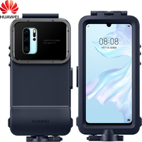 Original Official HUAWEI P30 Pro snorkelling Case Waterproof Swimming Diving Cover HUAWEI P30 Pro Case Underwater photo Cover