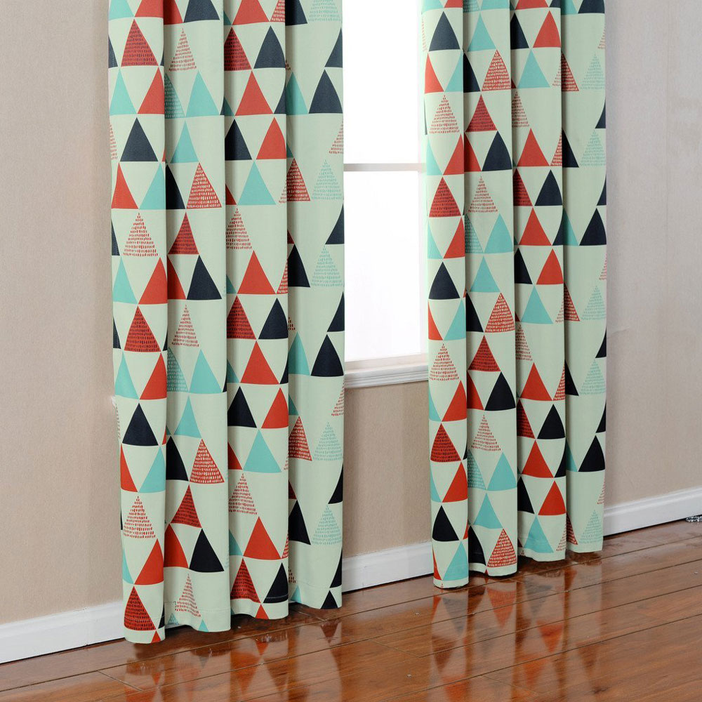 Geometric Patterned Curtains Aliexpresscom Buy Children Curtains For Bedroom American Style