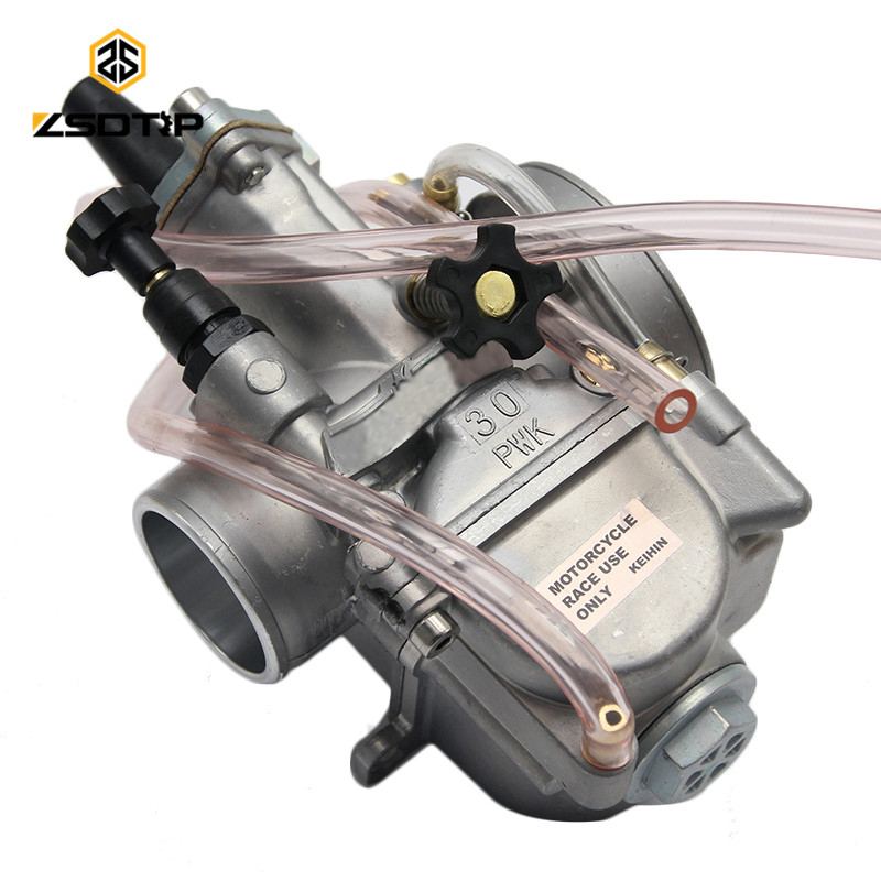 ZSDTRP Free shipping keihin carburetor Carburador 28 30 32 34 mm with power jet case for honda yamaha racing motor цена