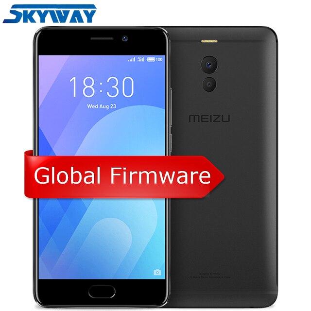 Ban đầu Meizu M6 Note Toàn Cầu Miếng 3 GB 16 GB Di Snapdragon 625 Lõi Octa 5.5 ''Camera Kép 4000 mAh Vân Tay