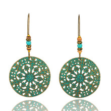 Vintage Boho India Ethnic Water Drip Hanging Dangle Drop Earrings for Women Female 2018 New Wedding Party Jewelry Accessories lnrrabc vintage boho india ethnic water drip hanging dangle drop earring women female 2018 new wedding party jewelry accessories