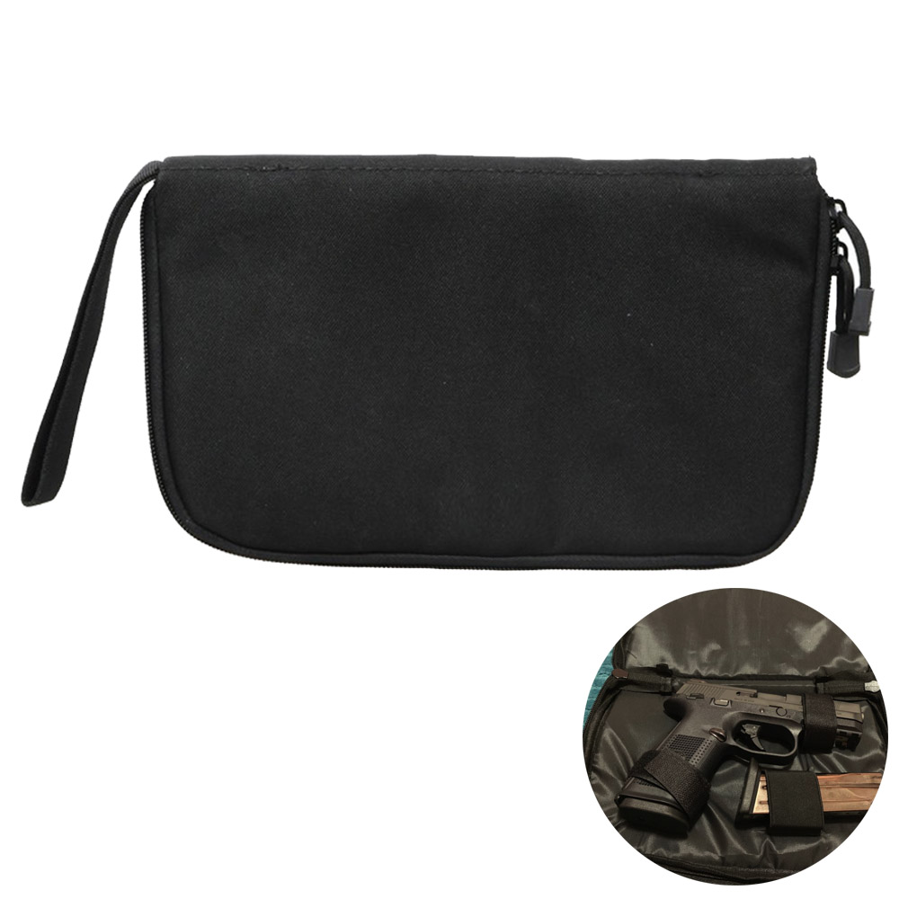 Tactical Handgun Pouch Protable Gun Holster And Magazine Carrier Hunting Paintball Cover Case Cs Game Hand Gun Easy Carry Bag