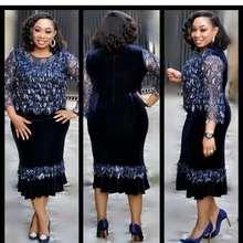 2018 autumn sexy fashion african women plus size dress S-XXL