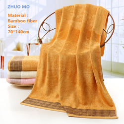 Brand Towel 70*140CM Bamboo fiber Beach Bath Towels Soft Comfortable Fast Dry Bathroom Towel for Adults or children