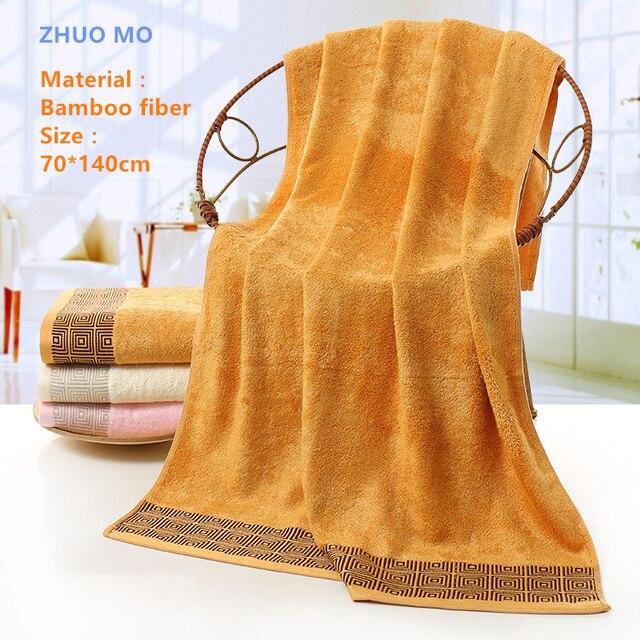 Di marca Asciugamano 70*140 cm fibra di Bambù Spiaggia Asciugamani Da Bagno Morb
