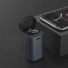 Bluetooth Sem Fio do Fone de Ouvido, Mini Único Fone de Ouvido com Caso De Carregamento Portátil, microfone e Som Claro para Chamadas Hands-free, Ginásio