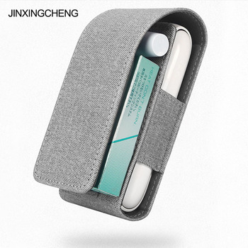 JINXINGCHENG NEW for iqos 3.0 Wallet Pouch Bag Protective Holder Cover BOX Wallet Case for iqos 3 PU Leather Carrying Case new magic shark genuine leather business case for iqos e cigarette shell protective case cover bag for iqos black brown