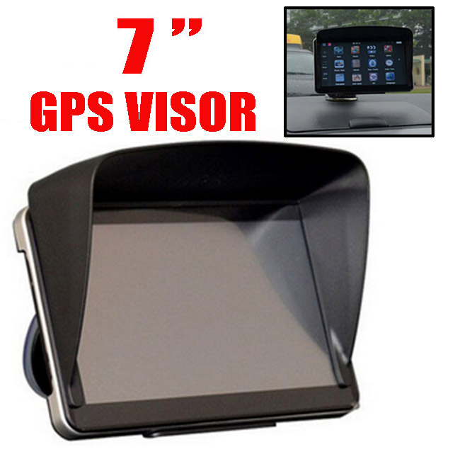 7 inch Car GPS Sun Shade Sunshade Visor Anti Glare 7