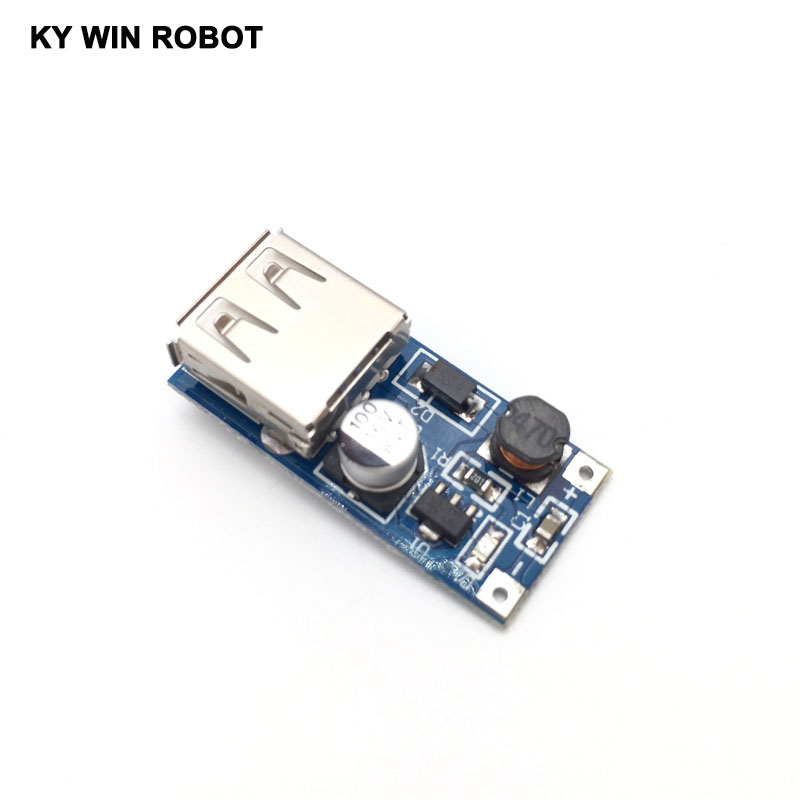 DC-DC USB Output charger step up Power Boost Module 0.9V ~ 5V to 5V 600MA USB Mobile Power Boost Board image