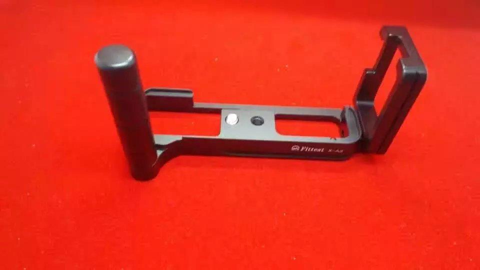 FITTEST FLF-XA3 Custom L Bracket/L Plate Vertical Plate for FUJI Fujifilm X-A3 xa3 SUNWAYFOTO Arca Swiss RRS Compatible