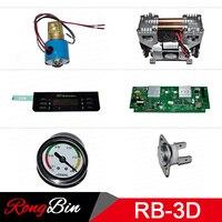 Bomba de vácuo da máquina de sublimação 3d/placa de circuito/placa de controle/bandeja de cozimento/válvula eletromagnética/botão/ficha de alimentação