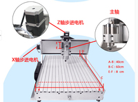 New CNC Router 6040 800W Spindle 1 5KW VFD 220V 110V Milling Engraving Machine