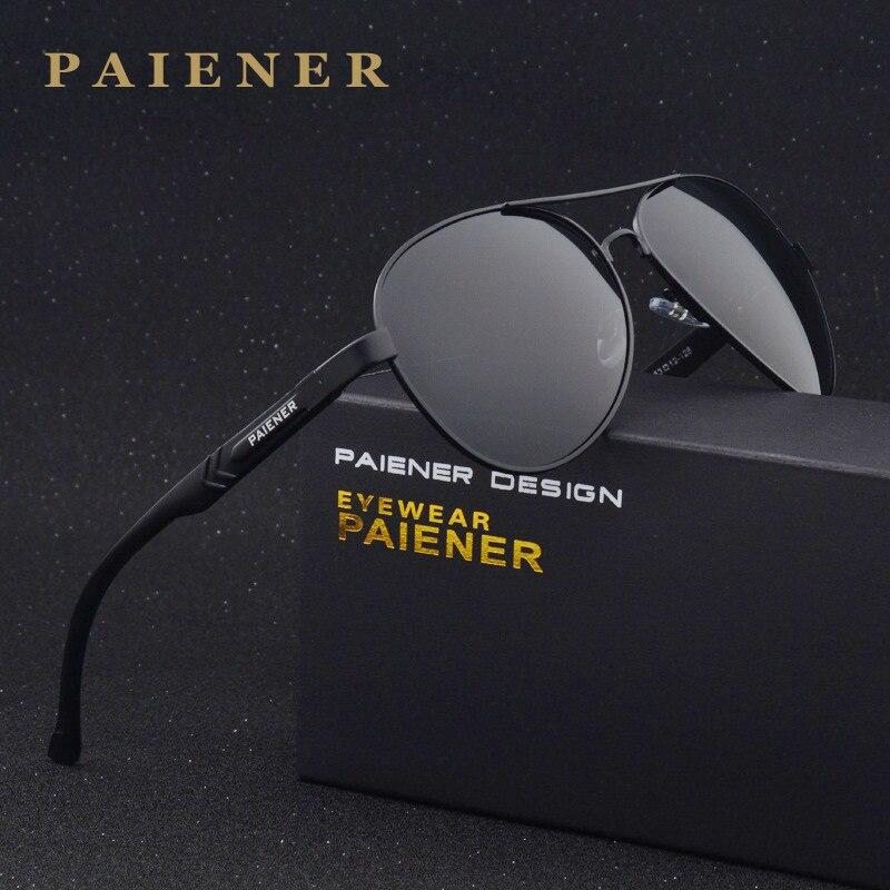 2784f0504b Brand design Men women sun glasses 100% Polarized Aluminum Frame Sunglasses  Fashion Men s Driving Sunglasses with Accessories