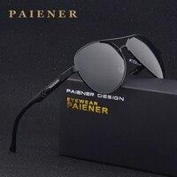 Brand design Men women sun glasses 100% Polarized Aluminum Frame Sunglasses Fashion Men's Driving Sunglasses with Accessories