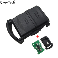 OkeyTech New 433Mhz Remote Key Smart Car Key Fob For Vauxhall For Opel Corsa C Meriva