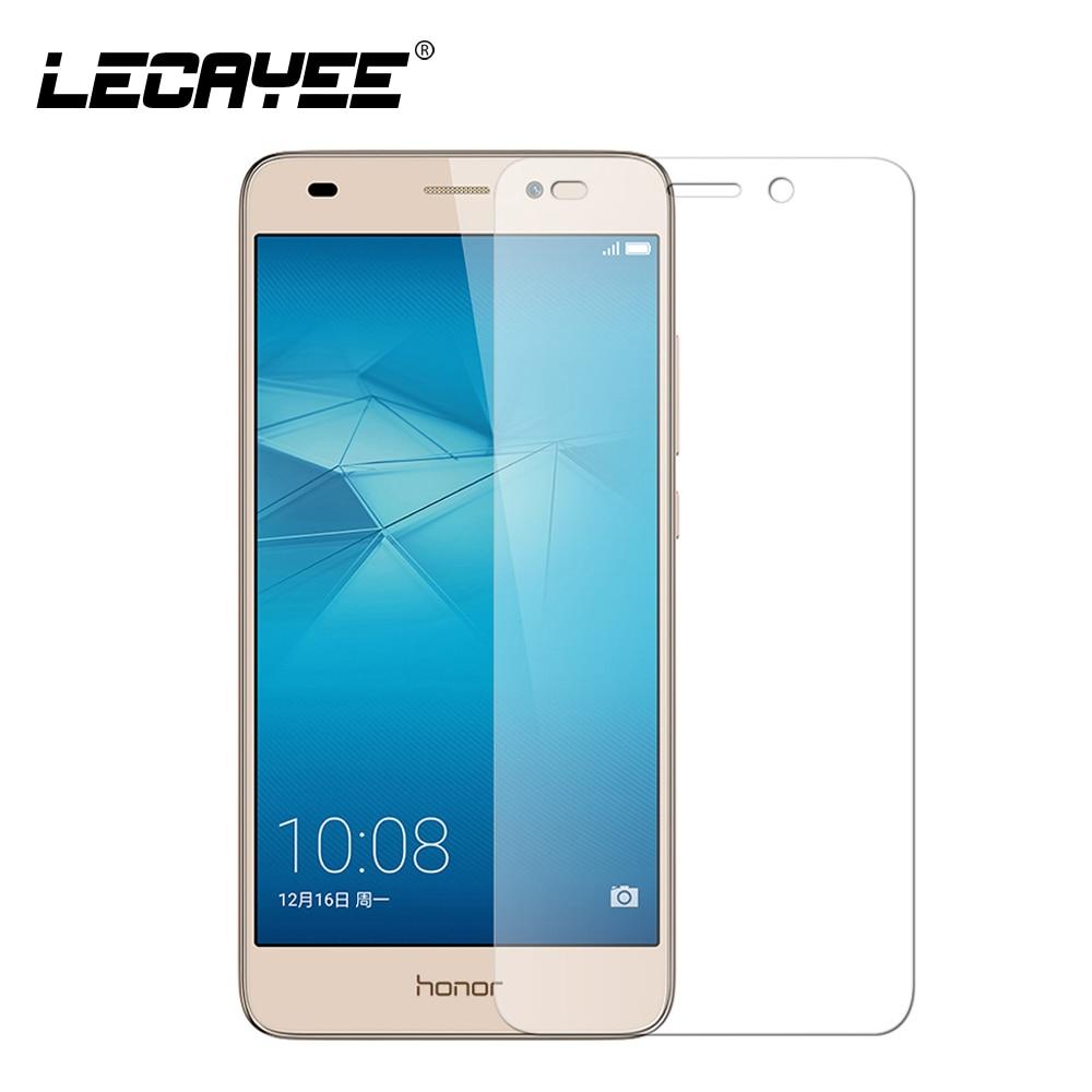 Verre trempé Ultra-mince de haute qualité pour Huawei honour 5C honour 4C 4X 4A 6X7 HUAWEI 5A protecteur d'écran HD verre résistant aux rayures