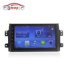 Bway 9 inch Quad core car radio gps for Suzuki Sx4 2006 2007 2008 2009 2010 2011 2012 android 6.0 car dvd player with Wifi,BT