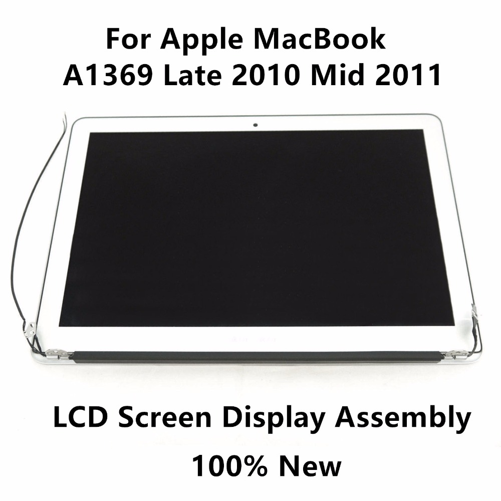 For Apple MacBook Pro Retina A1369 Late 2010 MC503 MC504 Mid 2011 MC965 MC966 Upper Full LCD Screen Display Assembly Replacement