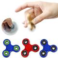 Tri-Spinner Fidget Toy Plastic EDC Hand Spinner For Autism ADHD Rotation Time Long Anti Stress Fidget Toys