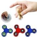 Tri-Spinner Fidget Juguete Plástico EDC Mano Fidget Spinner Para El Autismo ADHD Tiempo de Rotación Larga Anti-Estrés Juguetes