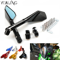 Motorcycle Mirrors Motorbike Moto CNC Rearview Side Mirror Aluminum For Yamaha Mt09 Mt10 Mt07 Tmax 500