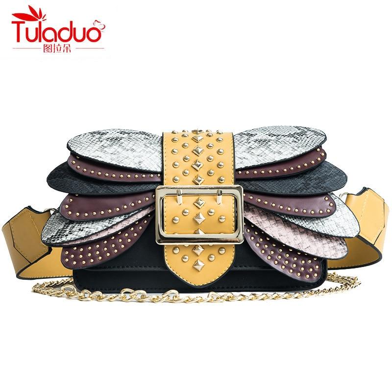 Summer Fashion Rivet Women Crossbody Bags High Quaity PU Leather Ladies Shoulder Bags Famous Designer Women Messenger Bags 2018