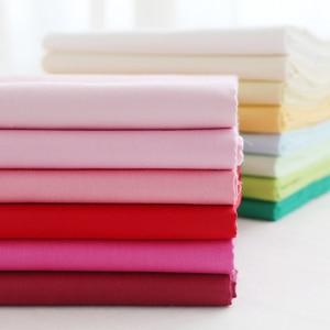 160x50cm Cotton Fabrics Solid