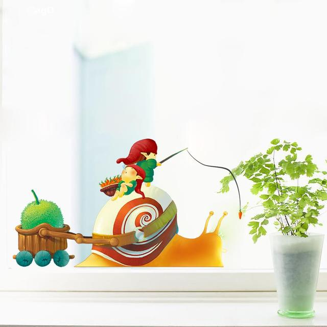 Cartoon Nome Jest Troche Swiata Elf Slimaki Plakat Naklejki Scienne