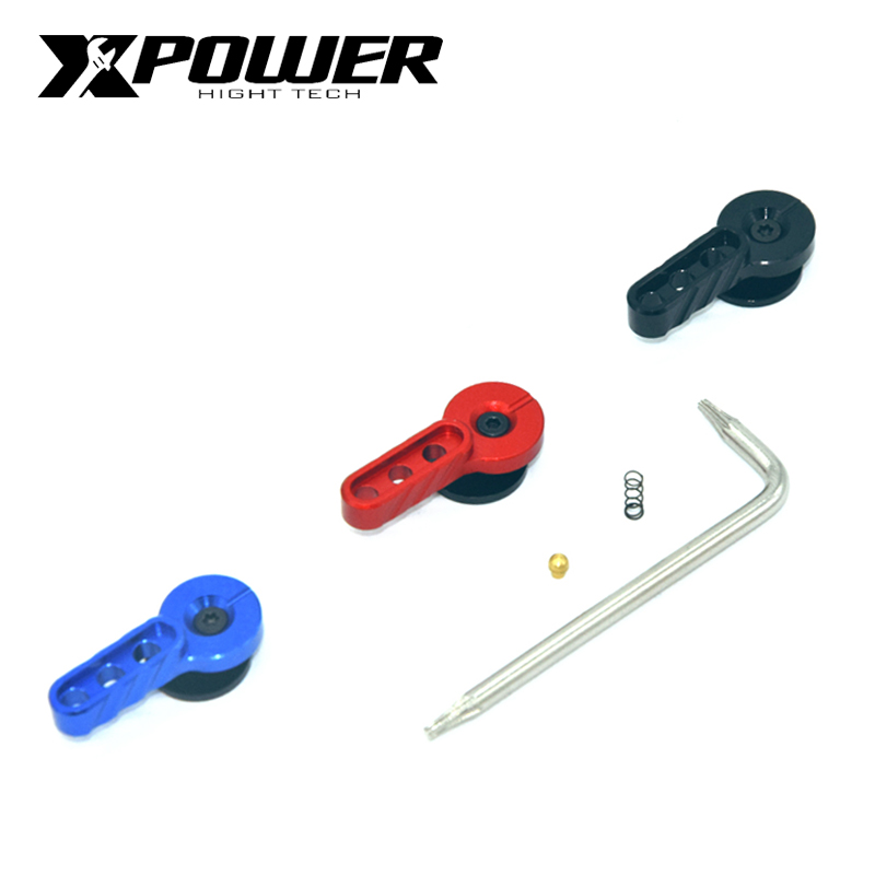 XPOWER Enhanced Safety Aluminium Alavanca Selector Lever Selector Switch Set For Airsoft AEG Gel Blaster Paintball Accessories-in Paintball Accessories from Sports & Entertainment